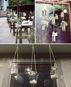 Simple hanging wedding decoration ideas #EasyNip