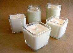 How to Make Candles Tutorial on eHow Crafts at http://www.ehow.com/how_1191_make-candles.html#page=0