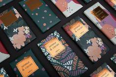 Ilustração e Design Gráfico: Amour and Cacao Flower Packaging, Beer Packaging, Food Packaging Design, Brand Packaging, Cacao Chocolate, Chocolate Brands, Homemade Chocolate, Blog Design Inspiration, Packaging Design Inspiration