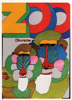 Marek Mosinski was a Polish artist, who specialised in poster design Art And Illustration, Graphic Design Illustration, Graphic Art, Animal Posters, Identity Art, Visual Communication, Vintage Posters, Design Art, Pop Art