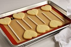 Steps to making the perfect sugar cookie (and cookie pops!).