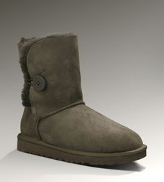 Ugg Womens Bailey Button Chocolate - UGGs Outlet With Elegant Design, Free Shipping, Free Tax, Door to door delivery