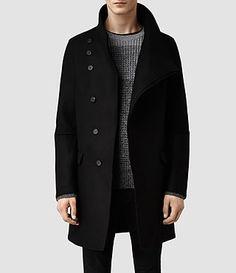 Mens Sylvan Coat (Black) - product_image_alt_text_1