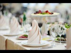 Сложить салфетку, 5 способов Table setting, tableware couvert - YouTube