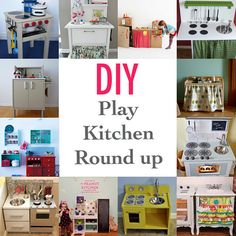 DIY play kitchens round up at The Dragons Fairy Tail