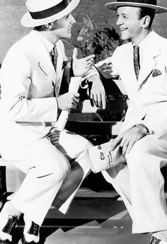 Fred Astaire and Gene Kelly