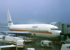 Boeing 720, Cargo Airlines, Alaska Airlines, Vintage Air, Photo Search, Aviation Art, Air Travel, History, Airplanes