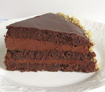 Serbian Chocolate Torte Recipe - Torta Cokolada