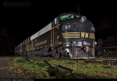 RailPictures.Net Photo: WVC 67 West Virginia Central Railroad EMD F7(A) at Belington, West Virginia by Chase Gunnoe