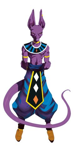 Beerus (I like that name so much better than bills, when people say bills I picture him with bill Cosby voice... >. < ) by TovioRogers
