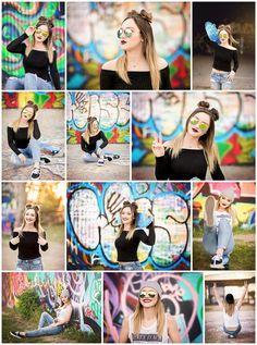 26 super ideas for photography portrait urban girls Senior Photography, Graffiti Photography, Photography Poses Women, Urban Photography, Portrait Photography, Vision Photography, Night Photography, Girl Senior Pictures, Senior Girls