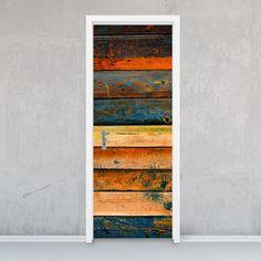 """Die #Designfolie """"Wooden"""" für deine Tür #dekorfolie #tuer #wooden #vintage #nature"""