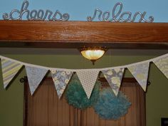 Navy Bean: How to Make Bunting