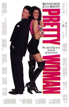 Pretty Woman  (1990)  A man in a legal but hurtful business needs an escort for some social events, and hires a beautiful prostitute he meets... only to fall in love.    Director: Garry Marshall  Writer: J.F. Lawton  Stars: Richard Gere, Julia Roberts and Jason Alexander