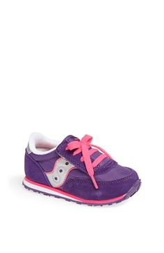 Saucony 'Jazz' Sneaker (Baby, Walker & Toddler) available at #Nordstrom