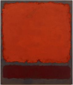 Mark Rothko, Orange, Red and Red, 1962, oil on canvas