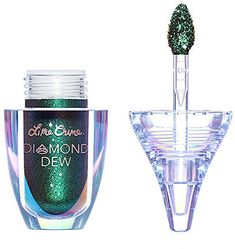 Lime Crime - Online Only Limited Edition Diamond Dew Liquid Eyeshadow in Tinsel (holiday green) - Makeup, Ulta Beauty, New Makeup, Holiday Makeup Mac Lipstick Swatches, Mac Matte Lipstick, Mac Lipsticks, Gloss Eyeshadow, Liquid Eyeshadow, Lip Gloss, Eyeshadow Palette, Makeup Brands, Makeup Products
