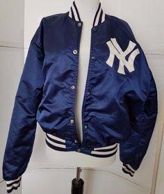 New York Yankees starter jacket vtg MLB Baseball vintage windbreaker jacket Large GGvR3t4Mob