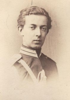 Dagmar's original Romanov fiance,  Nicholas Alexandrovich of Russia. The young tsarevich's early death before they could marry caused the families to encourage Dagmar to marry his younger brother and heir, the future Alexander lll. Their marriage was said to be a happy one despite its unusual beginnings.