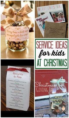 10 Fabulous Service Ideas for kids during this Christmas season. Teach them the true meaning of Christmas!