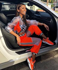 Best Baddie Outfits Part 7 Boujee Outfits, Cute Casual Outfits, Teen Fashion Outfits, Sporty Outfits, Rave Outfits, Fashion Week, Cute Fashion, Ropa Color Neon, Everyday Outfits