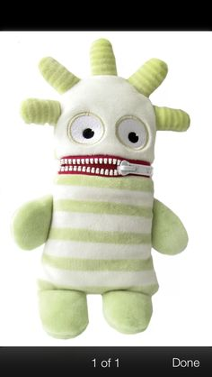 Ernie the worry eater. Just ordered for my children. They write down their worries and he eats them!
