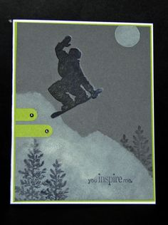 Snowboarding - Stampin' Connection