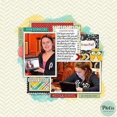 @Pixels & Company  @Leah Riordan - Get Schooled kit