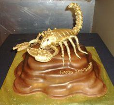 Scorpion Cake - TAC19