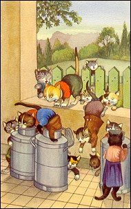 .i would love these all dressed cats.   Leslie brunetti.