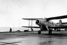 The first torpedo bomber, - A Fairey Albacore Mark I of No. 826 Squadron, - taking off from HMS FORMIDABLE for the morning strike against the Italian Fleet during the Battle of Matapan, 28 March (Port threequarter front view). Military Units, Aircraft Photos, Southern Europe, Total War, Aircraft Carrier, Royal Navy, North Africa, Military Aircraft, World War Two