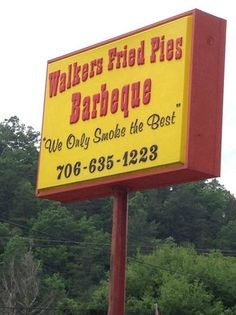 Walker's Fried Pies and Barbeque. Fried Pies- Ellijay