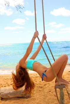 Seaside swing
