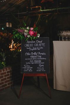 69ff19a8b1b457 Make A Statement With These 34 Creative Wedding Signage Ideas