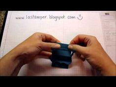 Peek A Boo Slider Card...LA Stamper Video Tutorial
