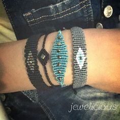 Preparing new stuff ❤️ #macrame #bracelet #evileye #jewelicious #handmade