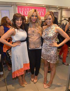 #Milky  Tia and Tamera with Tamar Braxton