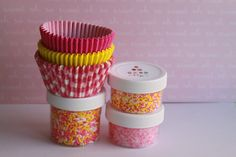 Pink Lemonade Cupcake Kit by DKDeleKtables on Etsy, $7.50