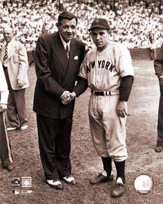 Babe Ruth & Yogi Berra-- NY Yankees