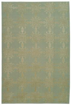 [ Tracery ]   hand-knotted, sculpted wool & silk rugs for MARTHA STEWART RUGS (Tibet) by Safavieh