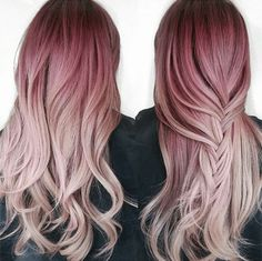 Pretty In Pink Ombré
