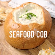 How to make a Seafood Cob Loaf Recipes, Fish Recipes, Seafood Recipes, Snack Recipes, Cooking Recipes, Easter Recipes, Recipes Dinner, Snacks, Cob Dip