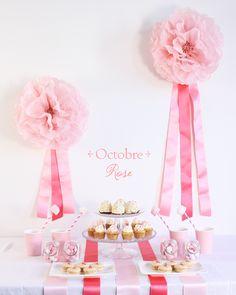 Sweet Table Pink Ribbon/Octobre Rose