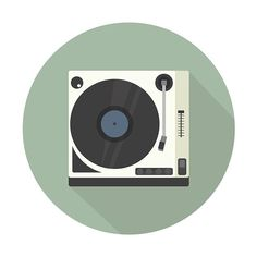 Sampled some music from a vinyl record player today and was inspired to make this icon. @thedesigntip #vinyl #iconoftheday #vinylrecord #graphicdesign #icon #iloveart #inspiration #vsco #vscocam #visforvector #illustration #illustrator #music #logo #creative #artist #musicvibes #design #graphicdesigner #designwork #artwork #nashvilletn