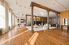 Loft, Contemporary Living room Style