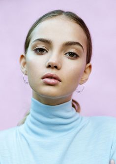 INKA // Inka Williams by Eddie NewBeauty - Isabella Schimid / Styling - Ella MurphyInsta / (Beauty Editorial) Beauty Skin, Beauty Makeup, Hair Beauty, Lip Makeup, Beauty Photography, Portrait Photography, Inka Williams, Too Faced, Beauty Shoot