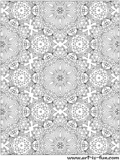Abstract Patterns Coloring Pages | Abstract pattern, Patterns and ...