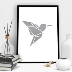 I need some plans modern woodworking Origami Kolibri VON Eulenschnitt now on JUNIQE! Get A Lifetime Of Project Ideas & Inspiration! Step By Step Woodworking Plans Tape Art, Geometric Drawing, Geometric Art, Geometric Animal, Geometric Shapes Design, Geometric Origami, Origami Design, Origami Hummingbird, Geometric Hummingbird Tattoo