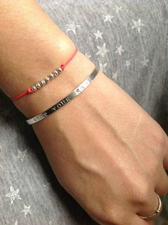 Image of Bracelet mini billes Argent Enfant et Adulte - LES BRINDILLES