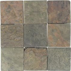 Tumbled Slate - Natural Stone Tile | American Olean.  Backsplash?  Fireplace?